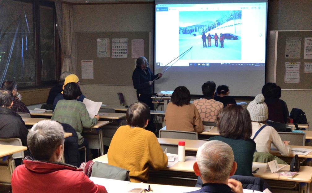 この週末は冬の講座、室内セミナーを開催しました